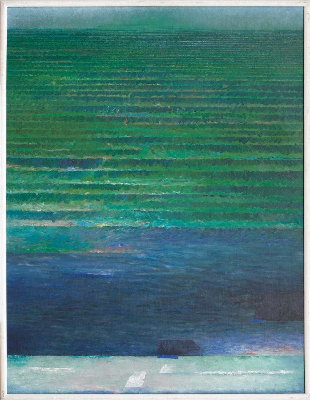 Światło tamtego lata 1994, olej płótno, 130x100 cm