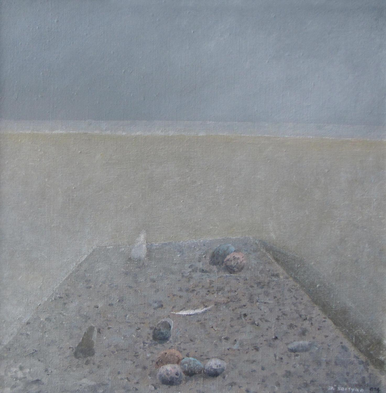 2014, olej, płótno, 40×40 cm