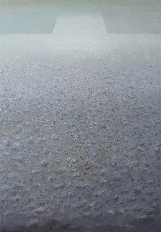 Horyzont, 2016, olej na płótnie, 70x50cm
