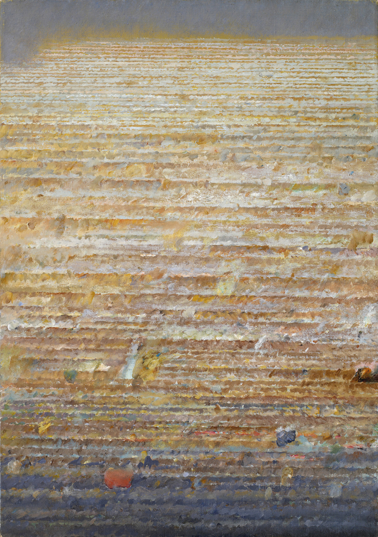Jasne pola 1998, olej płótno, 64x45cm