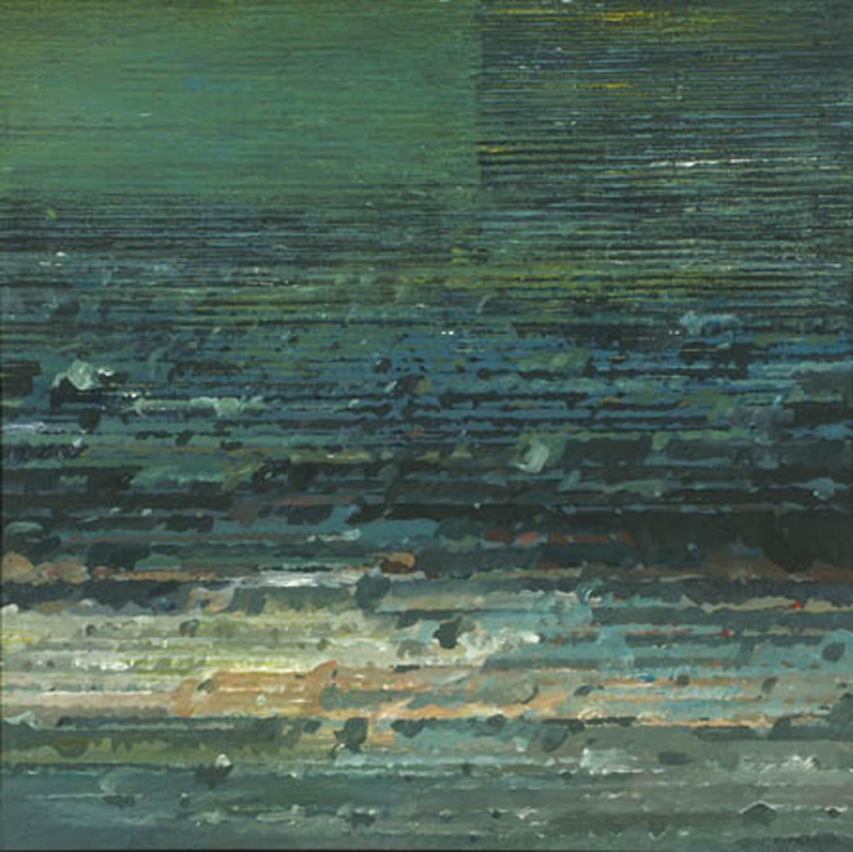 Na horyzoncie III 1998, akryl, 50x50 cm