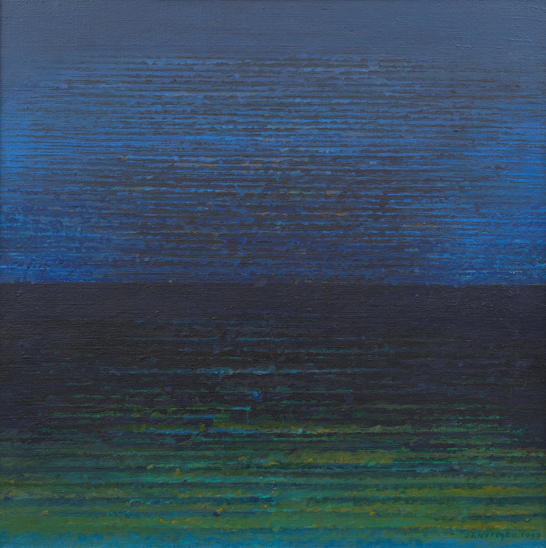 Nokturn 1997, akryl, 55x55