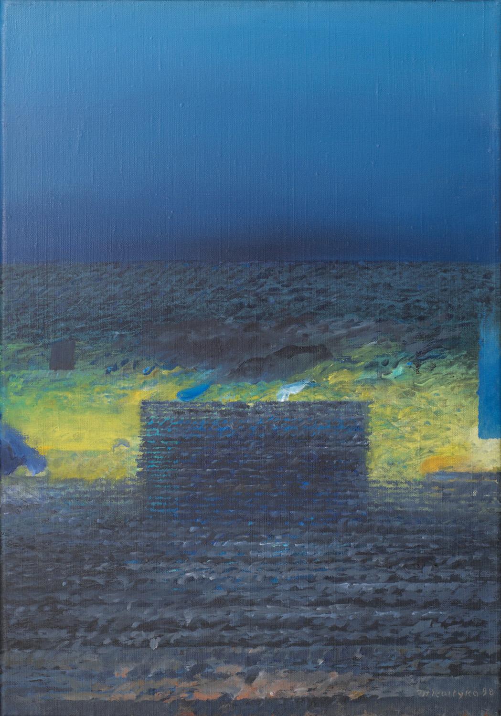 Obiekt, 1991-98 olej płótno, 55x38 cm