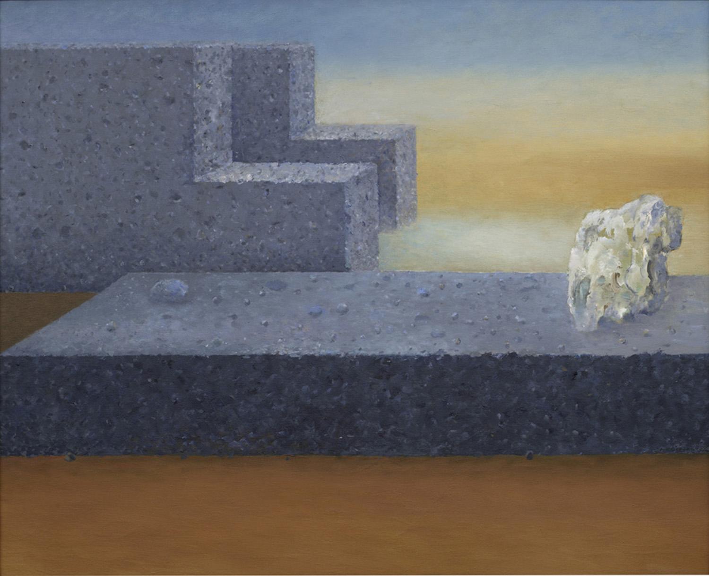 Podroz nieskonczona 2004, olej płótno, 81x100cm