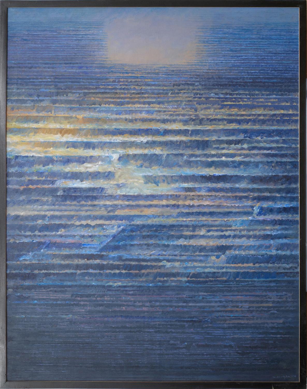 Poza trwaniem III 1992, olej płótno, 130x100cm