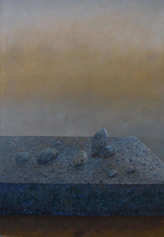 Zmierzch I, 2014 olej na płótnie, 64x45