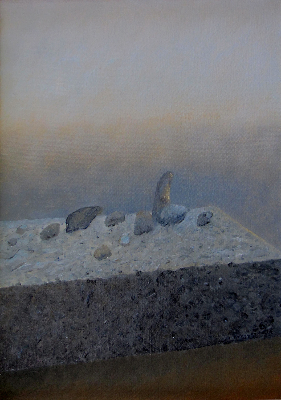 Zmierzch II, 2014 olej na płótnie, 64x45